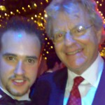 Michael with Jerry Springer