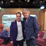 Michael with Bob Geldof at This Morning
