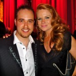 Michael with Patsy Palmer, Eastenders