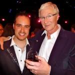 Michael with Paul O'Grady