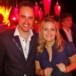 Michael with Jo Joyner, Eastenders