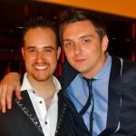 Michael with Craig Gazey, Coronation Street