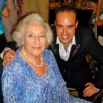 Michael with Dame Vera Lynn