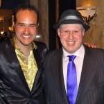 Michael with Matt Lucas