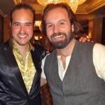 Michael with Alfie Boe