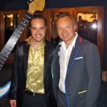Michael with Graham Norton