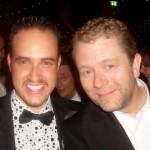 Michael with John Culshaw, Impressionist