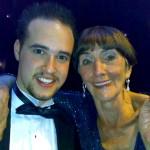 Michael with June Brown, Eastenders