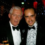 Michael with Nick Hewer, BBC's The Apprentice