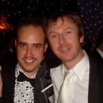 Michael with Conor Ryan, Coronation Street
