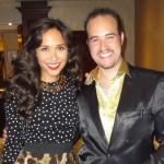 Michael with Myleene Klass