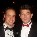 Michael with John Altman, Eastenders