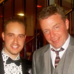 Michael with Suggs, Madness