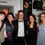 Michael with the finalists, BBC's I'd Do Anything